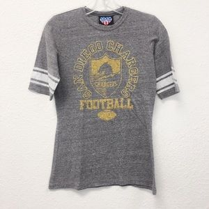 Junk Food San Diego Chargers Tee Shirt Size Small